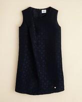 Giorgio Armani Junior Girls' Heart Embossed Shift Dress - Sizes 8-16