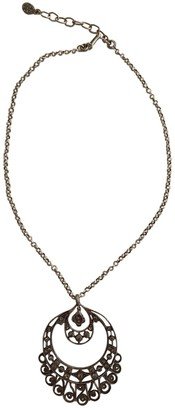 Christian Dior Anthracite Metal Necklaces