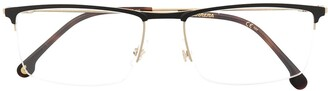 Carrera 190 Rectangle-Frame Glasses