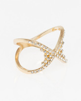 Le Château Gem Criss-Cross Ring