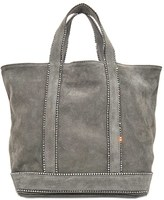 Vanessa Bruno Exclusive suede leather tote with Swarovski crystals