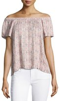 Soft Joie Morallis Off-the-Shoulder Top, Pink
