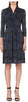 Max Mara Monile wrap-front dress