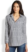 Gramercy Gingham Linen/Cotton Shirt