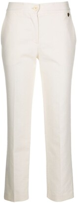 Twin-Set High Rise Cropped Trousers