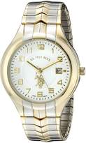 U.S. Polo Assn. Men's Two Tone Analogue Dial Expansion Watch USC80049