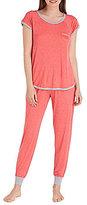 Kensie Dotted Jersey Pajamas