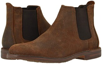 Trask Britton (Brown English Waxed Suede) Men's Shoes