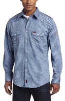 Wrangler Men's Flame Resistant Work Spread Collar Shirt