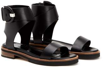 Aquatalia Henley Leather Sandal