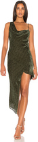 Michelle Mason Bias Maxi Dress in Olive. - size 0 (also in 2,4)