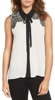 Cupcakes And Cashmere Royer Sleeveless Top