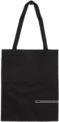 Rick Owens Black Medium Patch Tote