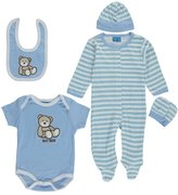 "Sweet & Soft Baby Boys' ""Baby Bear"" 5-Piece Layette Set"