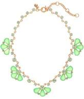 J.Crew Glass petals necklace