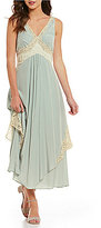 Free People Baby Love Lace-Trimmed Maxi Dress