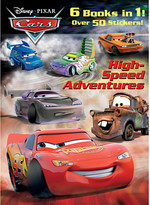 Disney High-Speed Adventures - Cars Coloring Activity Book - Jumbo