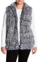 Susina Faux Fur Vest (Plus Size)