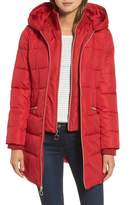 Kensie Women's Hooded Quilted Parka