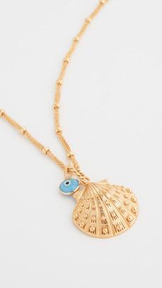 Mallarino Marina Large Seashell Charm Necklace