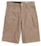 Volcom Toddler Boy's 'Modern' Chino Shorts