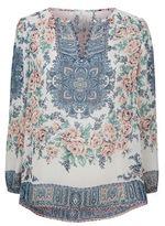 Joie Aisha Floral Print Blouse