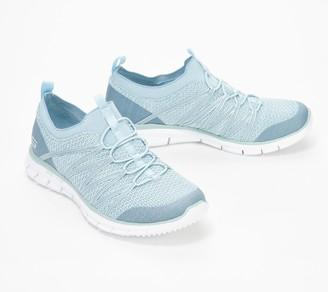 Skechers Stretch-Knit Bungee Slip-On Sneakers - Glider Tuneful