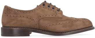 Tricker's Trickers Bourton Suede Lace-up Brogue Shoes