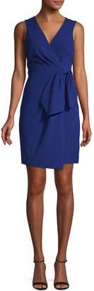 Eliza J Sleeveless Side Bow Wrap Dress