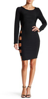 Wow Couture Side Cutout Bandage Bodycon Dress