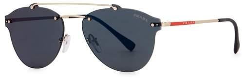Prada Linea Rossa Dark Blue Clubmaster