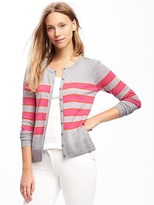 Old Navy Classic Button-Front Striped Cardi for Women