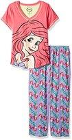 Disney Women's Little Mermaid 2-Piece Pajama Set
