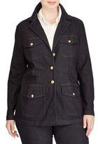 Lauren Ralph Lauren Plus Plus Size Braylin Cargo Jacket