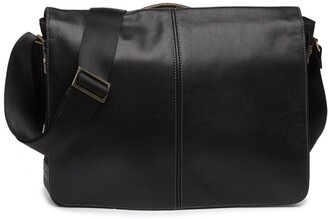 Boconi Slim Mailbag Messenger Bag