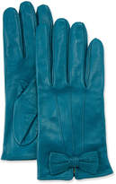 Portolano Napa Leather Gloves w/ Perforated Bow