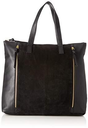 Pieces Pcileana Suede Shopper, Women's Shoulder Bag,15x44x40 cm (B x H T)