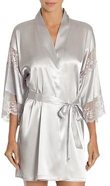 Jonquil Satin Wrap Robe