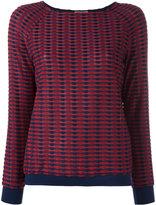 Armani Collezioni - blouse texturée
