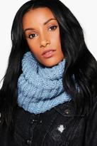 Boohoo Abigail Chunky Knit Snood