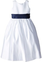 Us Angels Sleeveless Satin Dress (Little Kids)