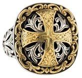 Konstantino Classics Daphne Filigree Cross Ring