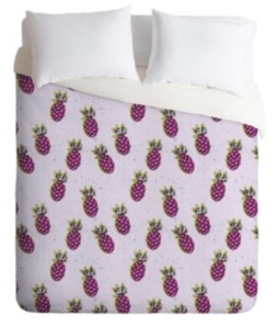 Deny Designs Holli Zollinger Folka Pineapple King Duvet Set Bedding