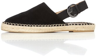 Find. Women's Espadrilles in Suede with Slingback and Buckle