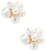 Kenneth Jay Lane Pearl Cluster Stud Earrings