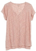 Madewell Women's Brea Stripe Split Neck Tee
