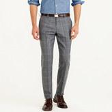 J.Crew Ludlow suit pant in windowpane Italian wool flannel