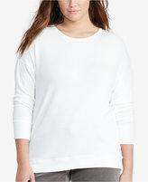 Lauren Ralph Lauren Plus Size Relaxed-Fit Jersey Shirt