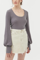 Out From Under Gemma Cozy Balloon Sleeve Top