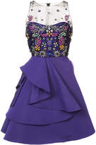 Marchesa stone embellished dress